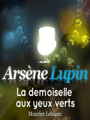 cover image of La demoiselle aux yeux verts
