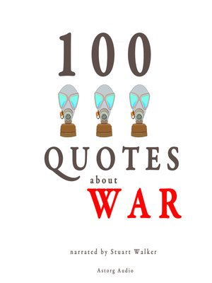 cover image of 100 Quotes about War