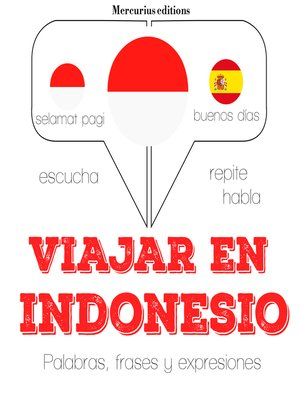 cover image of Viajar en indonesio