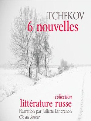 cover image of 6 nouvelles de Tchekov