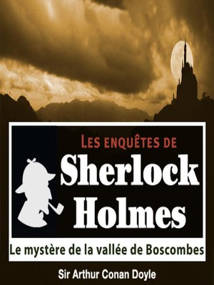 cover image of Le mystère de la vallée de Boscombes