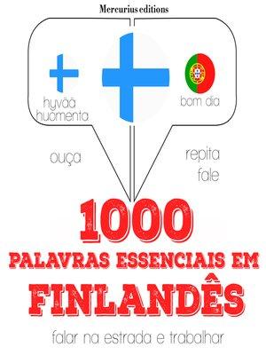 cover image of 1000 palavras essenciais em finlandês