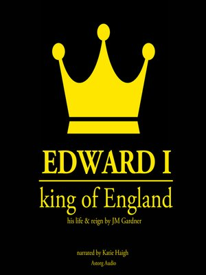 cover image of Edward I, King of England