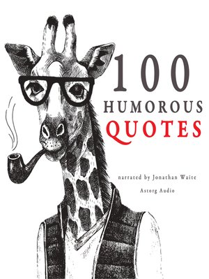 cover image of 100 Humorous Quotes