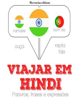 cover image of Viajar em hindi