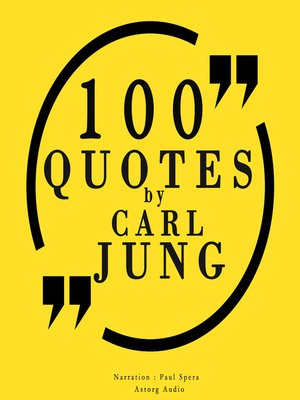 cover image of 100 Quotes by Carl Jung