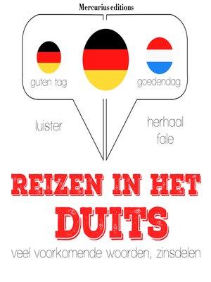 cover image of Reizen in het Duits