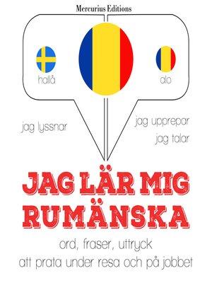cover image of Jag lär mig rumänska