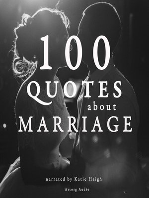 cover image of 100 Quotes about Marriage