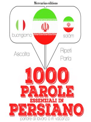 cover image of 1000 parole essenziali in Persiano