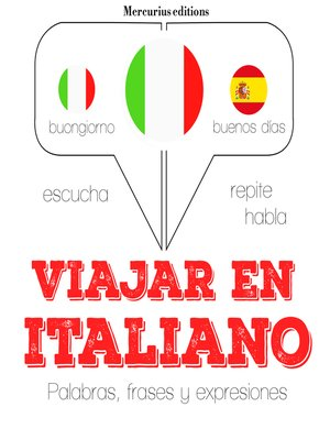cover image of Viajar en italiano
