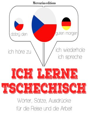 cover image of Ich lerne Tschechisch