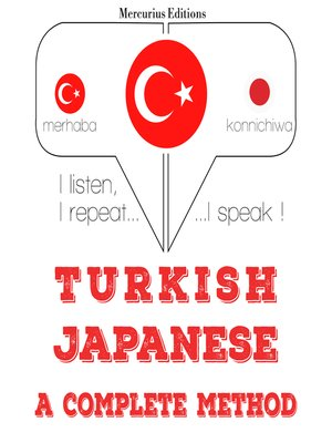 cover image of Turkish-Japanese: a complete method