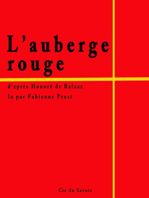 cover image of L'auberge rouge
