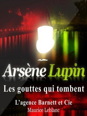 cover image of Les gouttes qui tombent