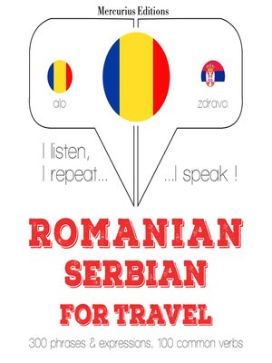 cover image of Romanian-Serbian: For travel