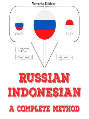 cover image of Russian-Indonesian: a complete method