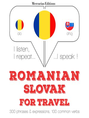 cover image of Romanian-Slovak: For travel