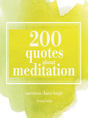 cover image of 200 Quotes for Meditation