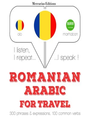 cover image of Romanian-Arabic: For travel