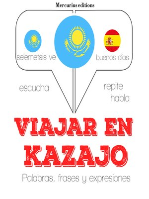 cover image of Viajar en kazajo