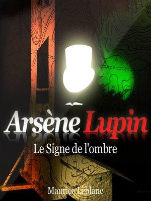 cover image of Le signe de l'ombre
