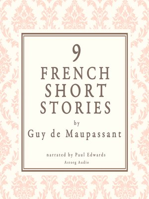 cover image of 9 French Short Stories