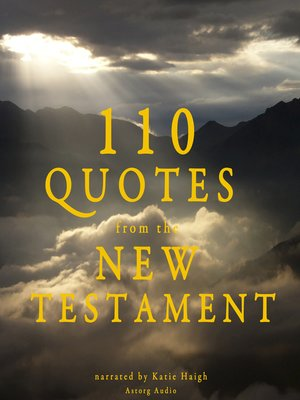 cover image of 110 Quotes from the New Testament