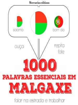 cover image of 1000 palavras essenciais em malgaxe