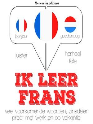 cover image of Ik leer Frans