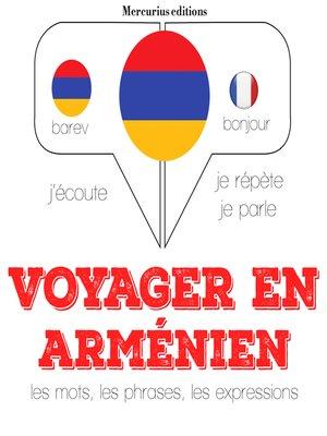 cover image of Voyager en arménien