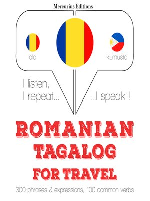 cover image of Romanian-Tagalog: For travel