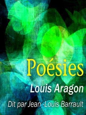 cover image of Les plus beaux poèmes de Louis Aragon