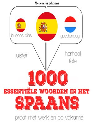 cover image of 1000 essentiële woorden in het Spaans
