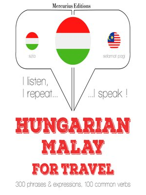 cover image of Hungarian-Malay: For travel