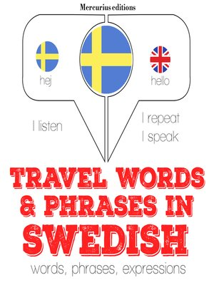 cover image of Travel Words and Phrases in Swedish
