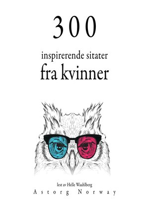 cover image of 300 inspirerende kvinners sitater