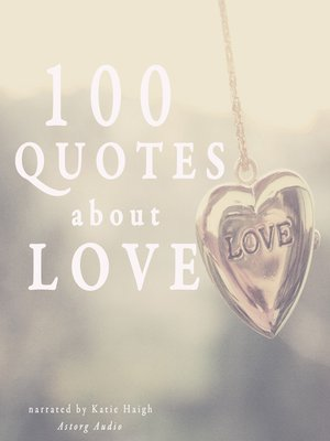 cover image of 100 Quotes about Love
