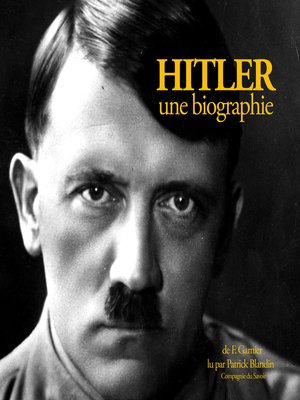 cover image of Hitler, une biographie
