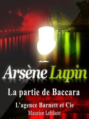 cover image of La partie de baccara