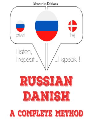 cover image of Russian-Danish: a complete method