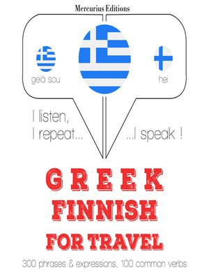 cover image of Greek-Finnish: For travel