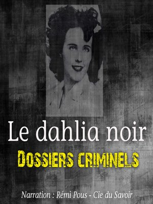 cover image of Le dahlia noir
