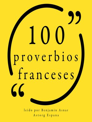 cover image of 100 Proverbios franceses