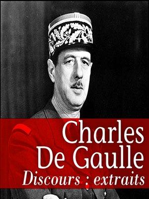 cover image of Les plus grands discours de De Gaulle