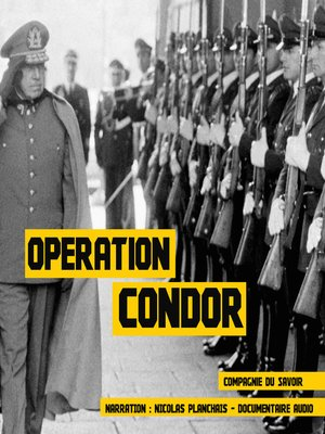 cover image of Opération Condor