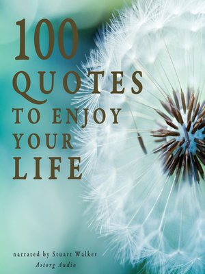cover image of 100 Quotes to Enjoy your Life