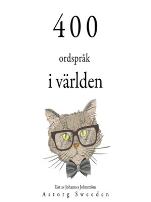 cover image of 400 ordspråk av världen