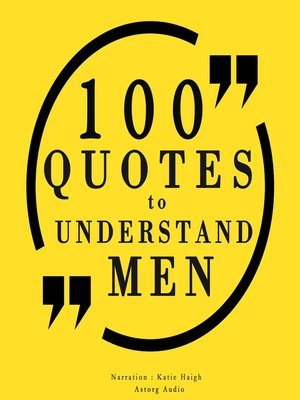 cover image of 100 Quotes to Understand Men
