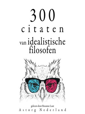 cover image of 300 citaten van idealistische filosofen